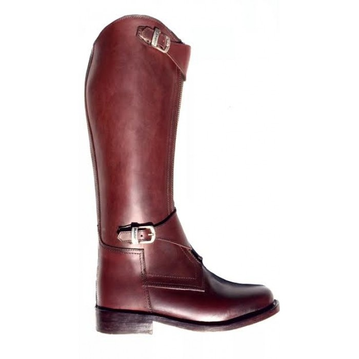 Front Zipper Polo Boots - Buffalo