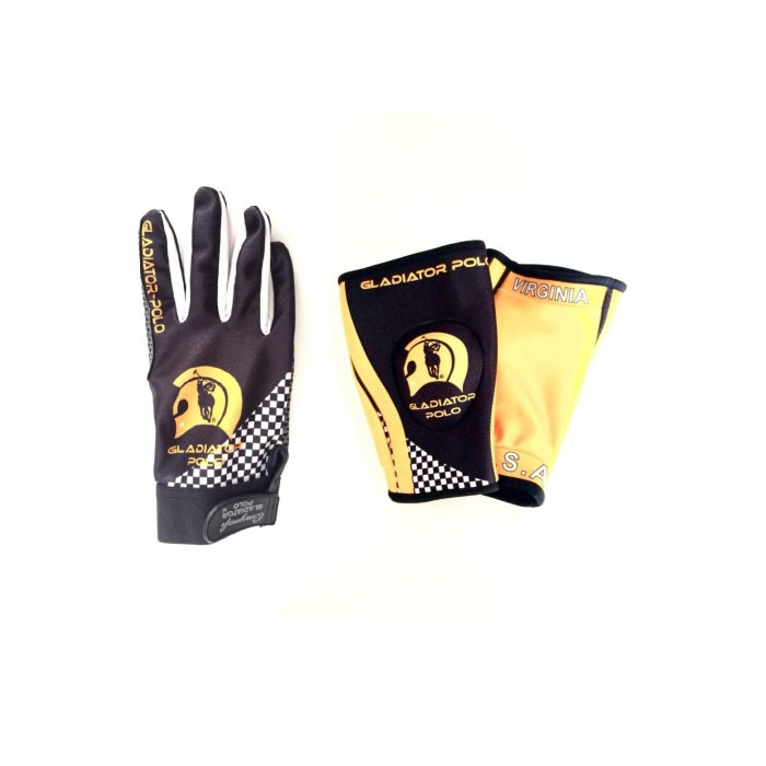Polo Elbow Pads and Gloves - Custom