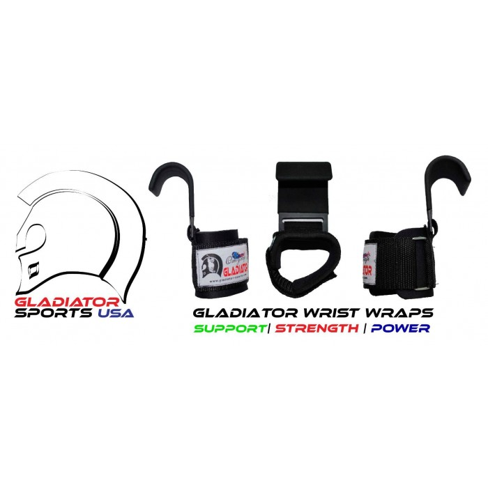 Weight Lifting Hook Straps - Heavy Duty