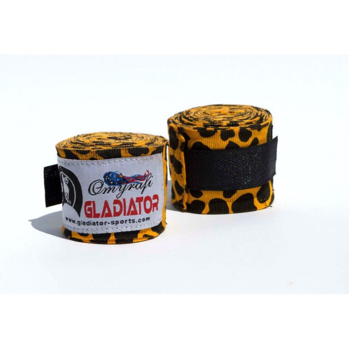 "MMA Hand Wraps 180"" Leopard"
