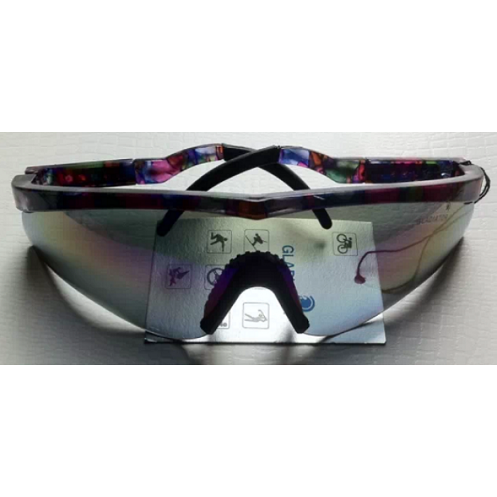 Polo Goggles - Purple Mosaic
