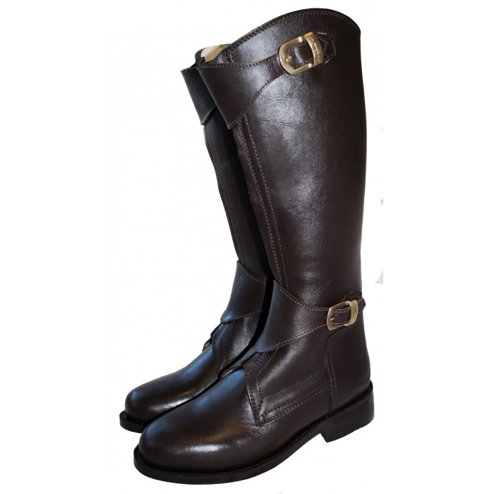 Argentinian Zipper Front Style Polo Player Boots