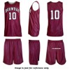 10 Custom Sublimated Basketball Uniforms Adult