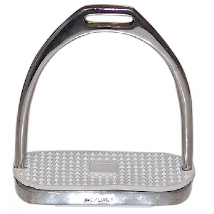 PSOB Stirrup Iron with Rubber Pads