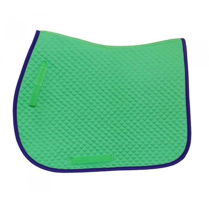All Purpose Lime Green Saddle Pad