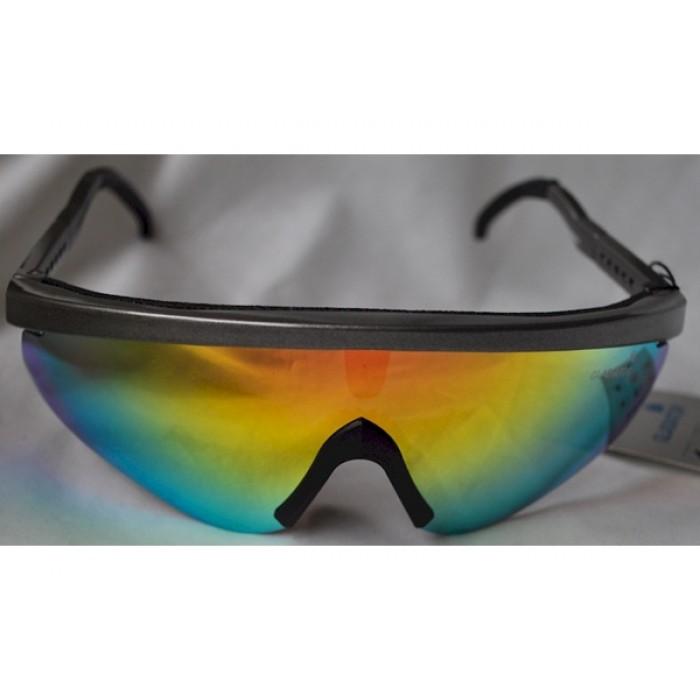 Polo Goggles: Silver Gladiator