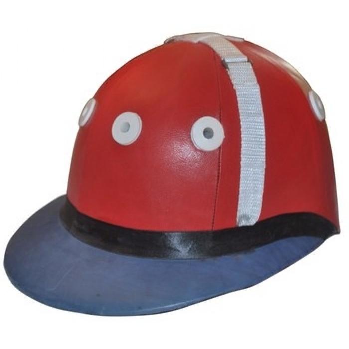 Leather Polo Helmet