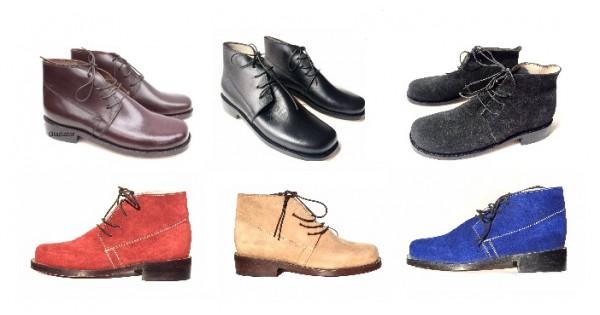 Civil War Brogan Jefferson Shoes Colors
