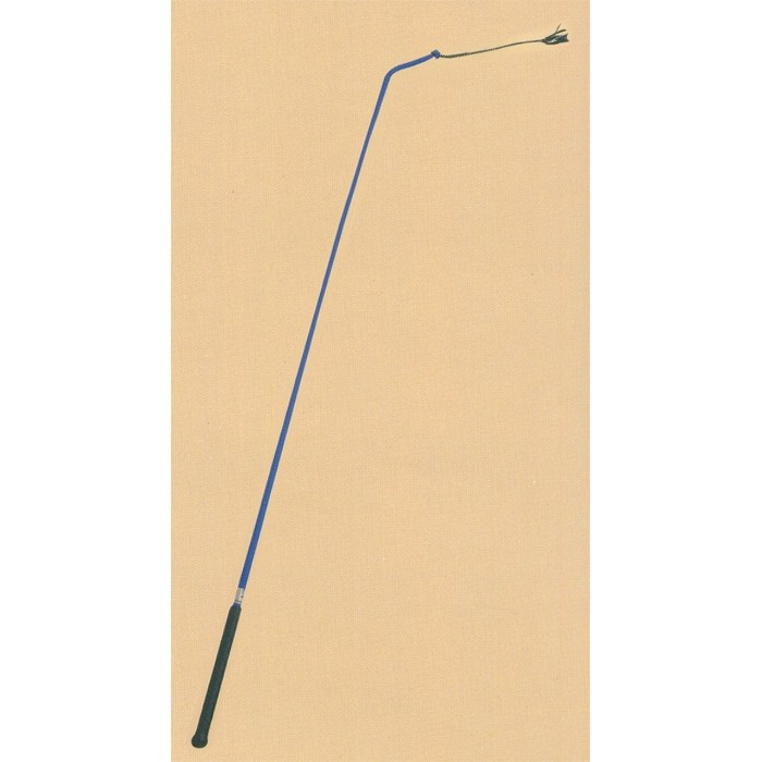 """Riding Whip - 33"""" Shaft, Rubber Handle"""